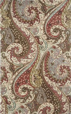 Paisley Rug in Plum Designed By Capel Rugs via Stylyze