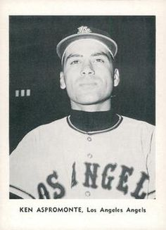 1961 Jay Publishing Los Angeles Angels #NNO Ken Aspromonte Front