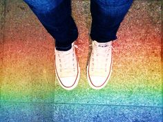 MUST: When you get a chance to step on a rainbow, you simply grab it!!!! xD