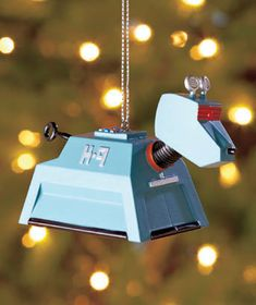 "Show that you?re the ultimate fan, and trim your tree with these <i>Doctor Who</I> Ornaments. Secure your presents under the protection of the Doctor's faithful robot dog K-9. One of Doctor's most feared foes, the Dalek will ""Exterminate!"" holiday bl"