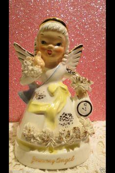 January Angel - Vintage Napco Lefton