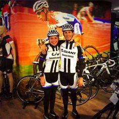 Lars van der Haar & Lucy Garner, team Giant Shimano