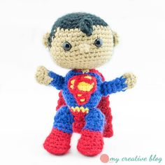 Superman - Crochet Pattern