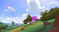 ArtStation - Brazilian farm, Philipe Rios