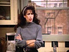 Maggie Wheeler on Seinfeld Modest Fashion, 90s Fashion, Fashion Outfits, Janice Friends, George Costanza, Friend Outfits, Seinfeld, Friends Fashion, Famous Celebrities