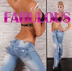 New Sexy Size 6 8 10 12 14 Women's Designer Low Rise Blue Jeans Hot Casual Wear | eBay