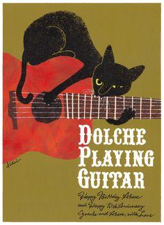 #kitty #music #guitar