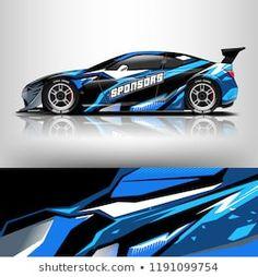 wrap design for racing car 3d Racing, Vinyl For Cars, Lamborghini Cars, Drifting Cars, Car Wrap, Car Decals, Cool Cars, Race Cars, Nissan
