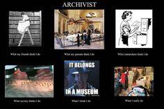 Archivists, explained.