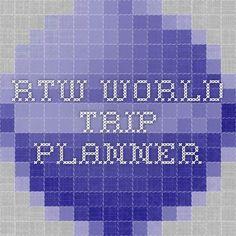 RTW  WORLD TRIP PLANNER