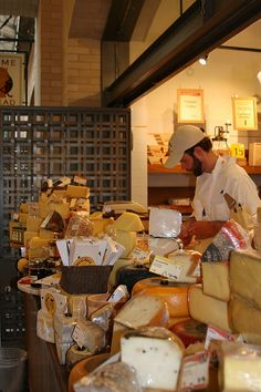 Cowgirl Creamery aka heaven on earth in the Ferry Building in lovely San Francisco