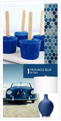 COULEUR PANTONE: MONACO BLUE
