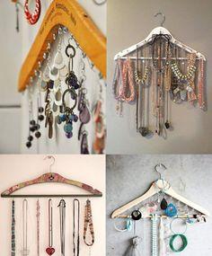 Como organizar suas bijuterias