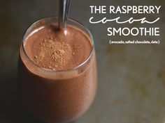 Raspberry cocoa Smoothie. Peach ginger oat smoothie. This smoothie celebrates summer by putting seasonal fruits in the spotlight. It's accompanied by unique flavors that also pump up the healthiness factor.
