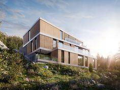 Norwegian project | Full CG on Behance