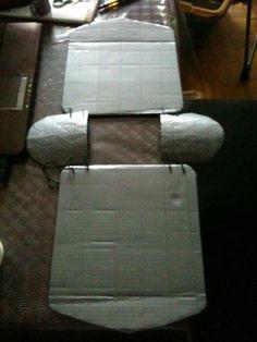 Comment faire une armure de chevalier en carton #DIY