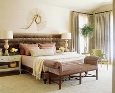 Celebrity Interior Designer Jeff Andrews Designs A Family Home With California Cool Style: A Colorful Mix In the Master