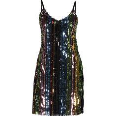 Black Sequin Cami Dress - Clothing - Partywear - Occasionwear - Women - TK Maxx Latest Fashion Dresses, Latest Dress, Tk Maxx, Occasion Wear, Dress Styles, Black Sequins, Cami, Heels, Clothing