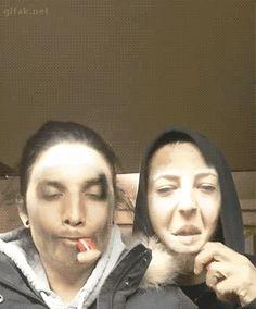 face swap smoke smoking weed haha wtf face faces creepy