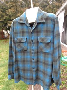 20 sale Vintage Pendleton Shadow Plaid board shirt by Simplemiles, $59.53