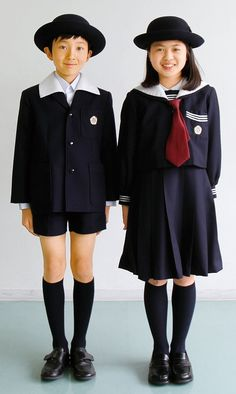 Japanese Pics, Kids Uniforms, Japanese School Uniform, Pose Reference Photo, Figure Poses, Girls Characters, School Boy, Cute Anime Guys, Character Outfits