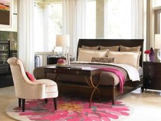 contemporary bedroom by laura hardin