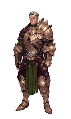 ArtStation - Strong warrior, Junq Jeon