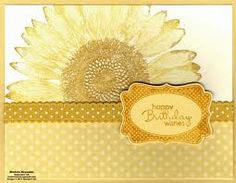 stampin up sunflower - Google Search