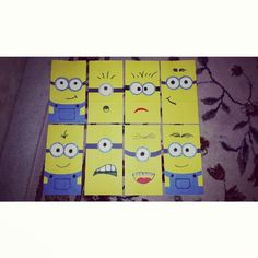 Do it yourself party favor bags. Minion bags! Mason bday