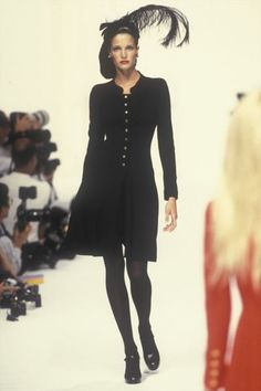 Stephanie Seymour for Chanel, Autumn-Winter 1994, Couture