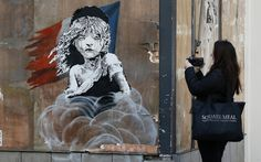Why Banksy's Art Is Such a Deadly Political Weapon Banksy's latest work—relating to the tear-gassing of migrants in Calais by French police—highlights his skill for crafting pieces of piercing, immediate relevance.
