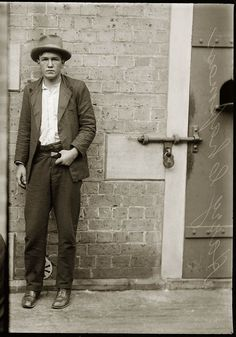 Portraits de criminels australiens dans les années 1920 photo police sydney australie mugshot 1920 28