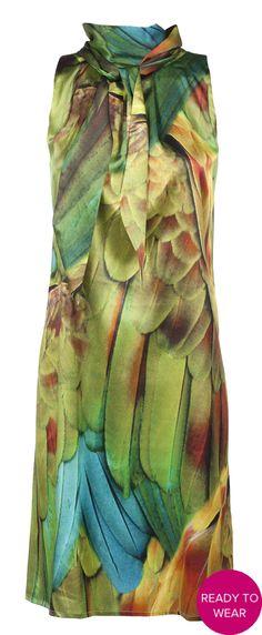 groene jurk