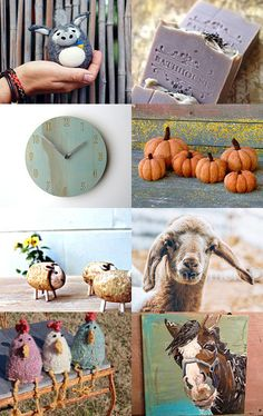 Whimsical Farm by Cindy Brockway on Etsy--Pinned with TreasuryPin.com
