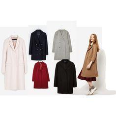 """coats"" by anna-cyklinska on Polyvore"