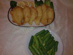 ΜΑΓΕΙΡΙΚΗ ΚΑΙ ΣΥΝΤΑΓΕΣ: Γλώσσες τραγανές με κουρκούτι ,φανταστικές!!!!! Asparagus, Vegetables, Desserts, Food, Eat, Tailgate Desserts, Studs, Deserts, Essen