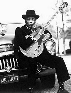 John Lee Hooker...Blues Man Who Could Make That Guitar Talk...And Wale With the Blues From Deep In His Soul....Oh, Yes, This Is Music!!