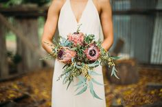 Australian native bouquet - Flowers by Julia Rose