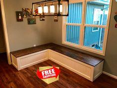 Banquette,Corner Bench,kitchen Seating,L Shaped Bench,breakfast Nook,  Kitchen Nook,bench