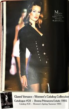 9cbcf0b962a Meghan Douglas Gianni Versace Donna Collezione Primavera Estate Woman s  Spring Summer Thierry Perez Runway Models Catalog