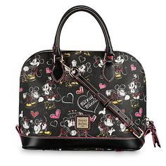 Romancing Minnie Zip Zip Satchel by Dooney & Bourke | Disney Store l #disneydiva
