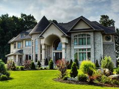A beauty! but it wouldnt take this much house to make me happy. #CurbAppealContest