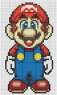 Cross me not: It's Mario-time! (Plastic Canvas)
