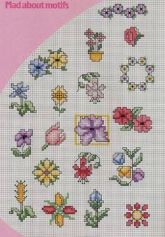 Gallery.ru / Fotoğraf 137. - Mini_vyshivki çiçek - svjuly
