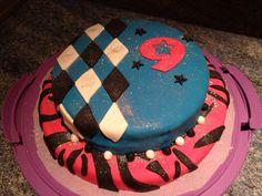 Pastel de cumpleaños para niña