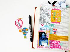 Illustrated Faith | Delight In His Day Collection | Bible Journaling By Elaine Davis