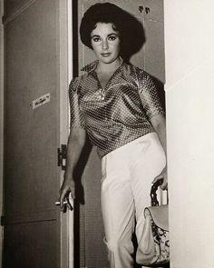 : On the Set: Elizabeth Taylor