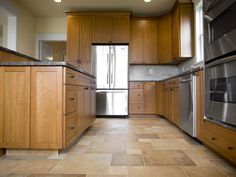 Kitchen floors take a beating, whether it's spilled food or daily traffic. Here are some flooring options that look great, but also hold up well with wear.