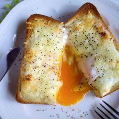 とろ〜り卵の絶品カルボナーラ風味トースト(お気に入り朝ごはん) by たっきーママ(奥田和美)さん | レシピブログ - 料理ブログのレシピ満載! 「全部レンジで朝すぐ弁当」(261レシピ)3/30発売です、よろしくお願いします!Amazon 楽天ブックスたっきーママの作りおきおかずも! 副菜も! 全部レンジで朝すぐ! 弁当 (扶桑社ムック) [...