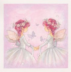 Annabel Spenceley - Fairy Sisters